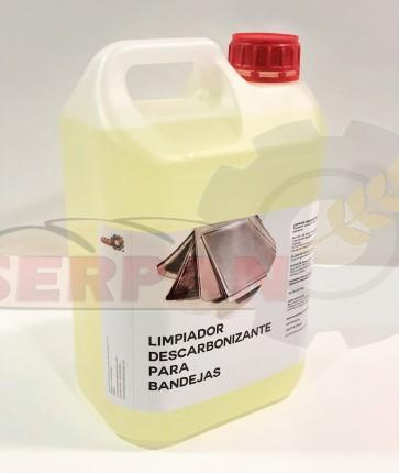 DESCARBONIZANTE LIMPIADOR SILICONA DESMOLDEANTE ALTA TEMPERATURA 1L LIMPIEZA SILICONADO DE BANDEJAS