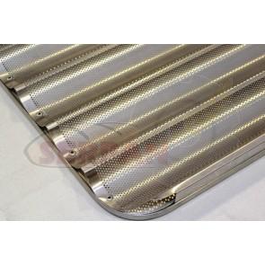 Bandeja aluminio 60x40cm 5 Canales  UNOX, DOBRA, RMG, FM, EKA