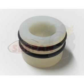 Casquillo nylon ranurado pesadora 50x30x37mm