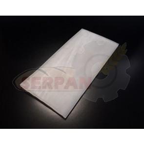 burlete FALDON PUERTA HORNO 35x2mm silicona alta temperatura
