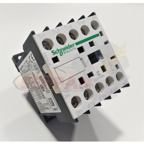 MINICONTACTOR SCHNEIDER 20A 3P+N/O 24VAC 6A