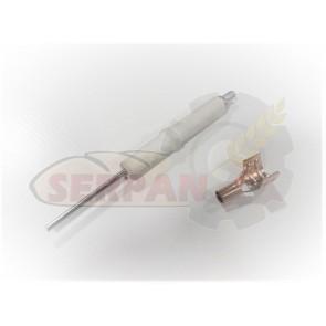 Electrodo encendido llama Piloto para horno Gas DOBRA 611P. Modelos horno Dobra antiguos. vaina.
