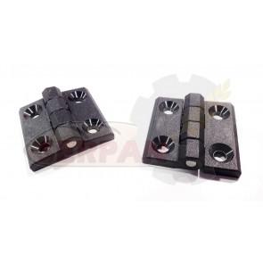 Kit bisagras tapadera de protección 50x50mm