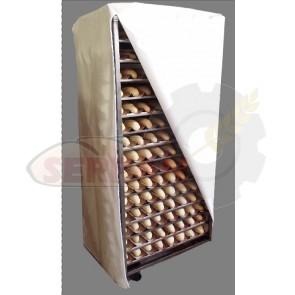 Funda de carro horno panaderia pasteleria 60x40 REVENT, GPG, BONGARD, BEGESA, MONDIAL FORNI, SALVA,