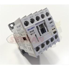 MINICONTACTOR REVALCO 12A 3P+N/O 24VAC