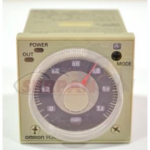 TEMPORIZADOR OMRON H3CR-A 24-48VAC / 12-48VDC CONEXIÓN 11  PÌN