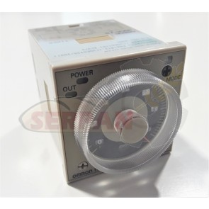 TEMPORIZADOR OMRON H3CR-A8 24-48VAC / 12-48VDC CONEXIÓN 8 PIN