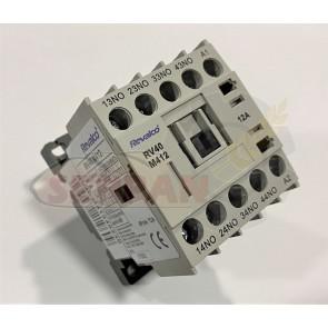 MINICONTACTOR REVALCO 12A 4P N/O 230VAC