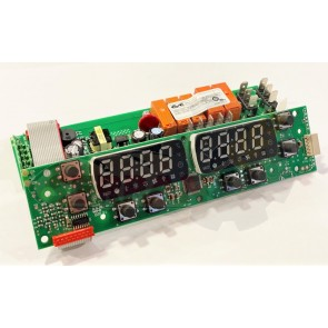 PLACA PANEL DE CONTROL HORNO RMG TANDEM 3 TANDEM 4  TECNODOM 600 PLUS 3T DIGITAL 600 PLUS 4T DIGITAL ELIWELL  PROD. CODE FU1852LT00H03