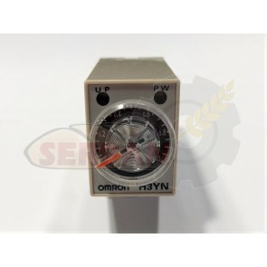 TEMPORIZADOR OMRON H3YN-21 MULTIRANGO 24VAC 0min a 1min/10min/1H/10H PANASONIC S1DX
